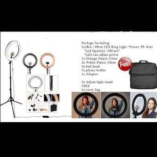 "Hot seller ""Makeup Ring Light""."