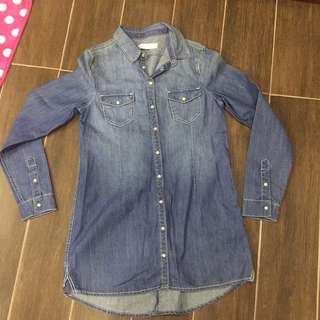 Giordano Denim Button Down