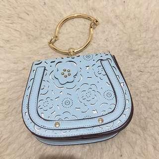 Tas selempang / sling bag ukir