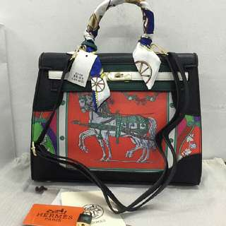 Hermes With Scarf (High-End)