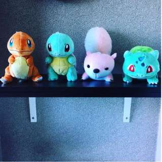 INSTOCK//POKEMON SOFT TOYS