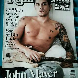 JOHN MAYER COVER ON ROLLING STONES MAGAZINE