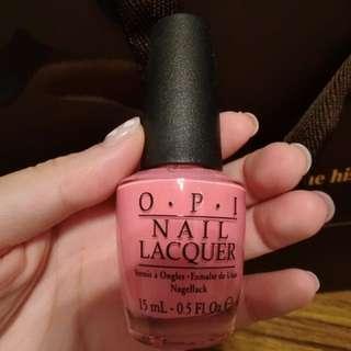 OPI 粉色指甲油 NL A68