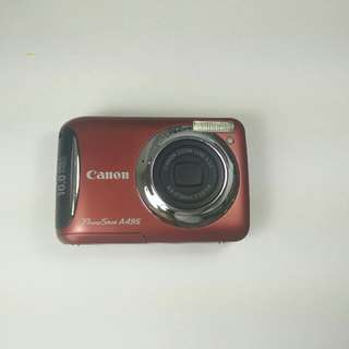 Canon Digital PowerShot Camera A495