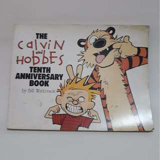 Calvin and Hobbes 10th Anniversary Book, by Bill Watterson