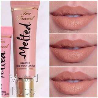 Too Faced Melted Nude Used Once. Not My Colour