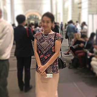 High quality Batik top