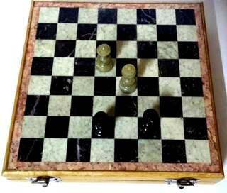 Marble Chess 20 cm
