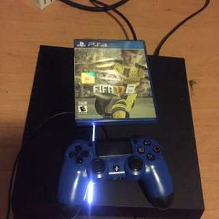 PS4 Including 1 Controller and FIFA17