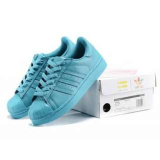 Adidas Superstar Light Blue 37-38