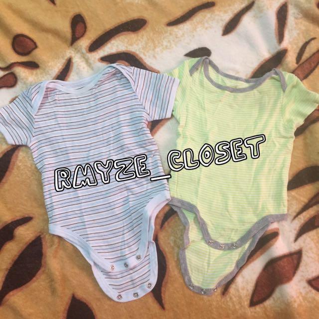 2 pc baby boy onesie