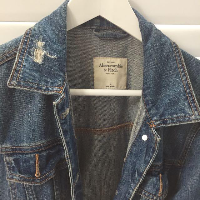 Abercrombie Oversized Jean Jacket