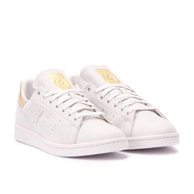 dd57e4f8 Adidas Stan Smith Sneakers Gold / White