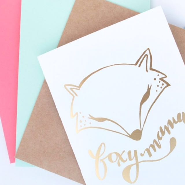 Affordable Cheapest Gold Foil Printing Hot Stamping For Wedding Card Birthday Greeting Cards Thank You Bulletin Board On Carousell