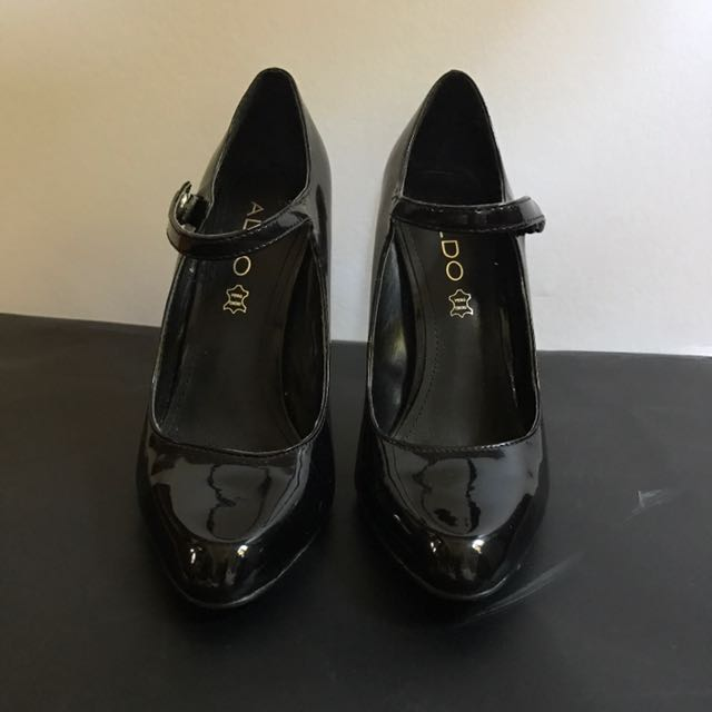 Aldo Black Mary Jane Shoes