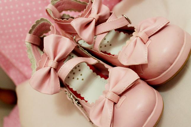 An*Tai*Na Pink Tea Party Shoes (Damaged)