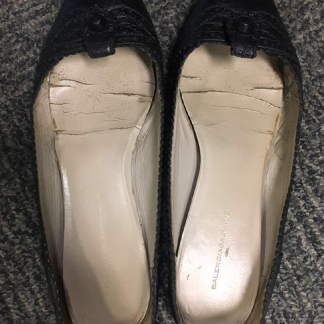 Authentic Balenciaga flat shoes