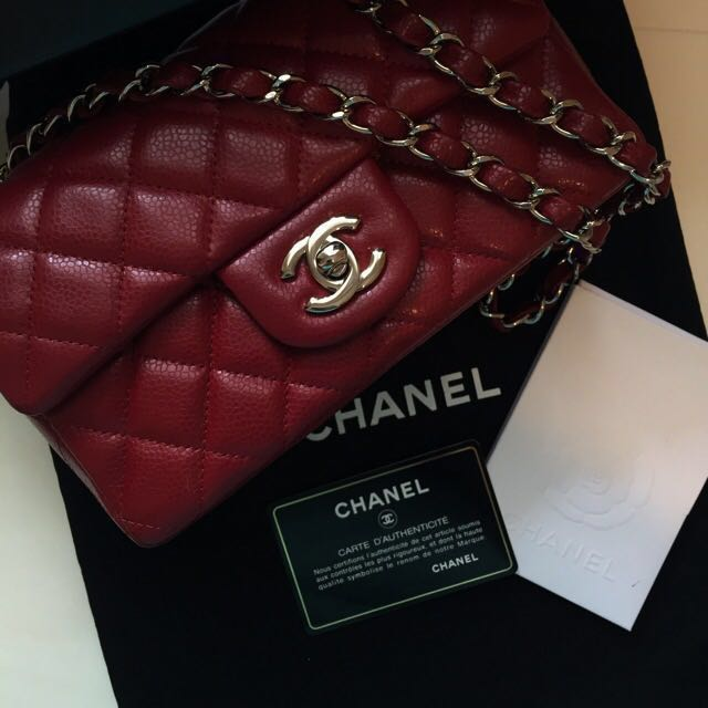 b150c032a4f3 Authentic Chanel Mini Sling Bag Purse, Luxury, Bags & Wallets on ...