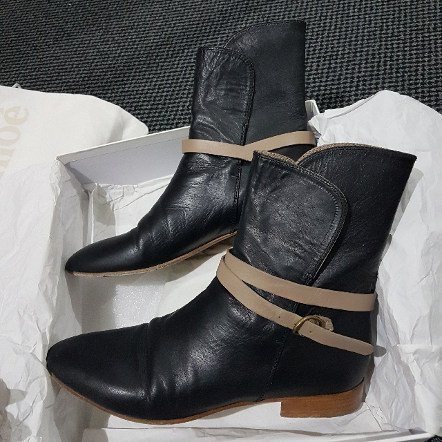 Authentic Chloe Boots Size 38