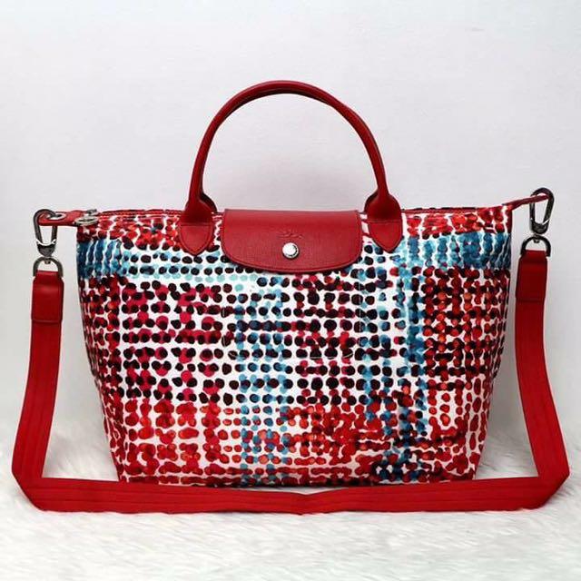 Authentic longchamp tote bag