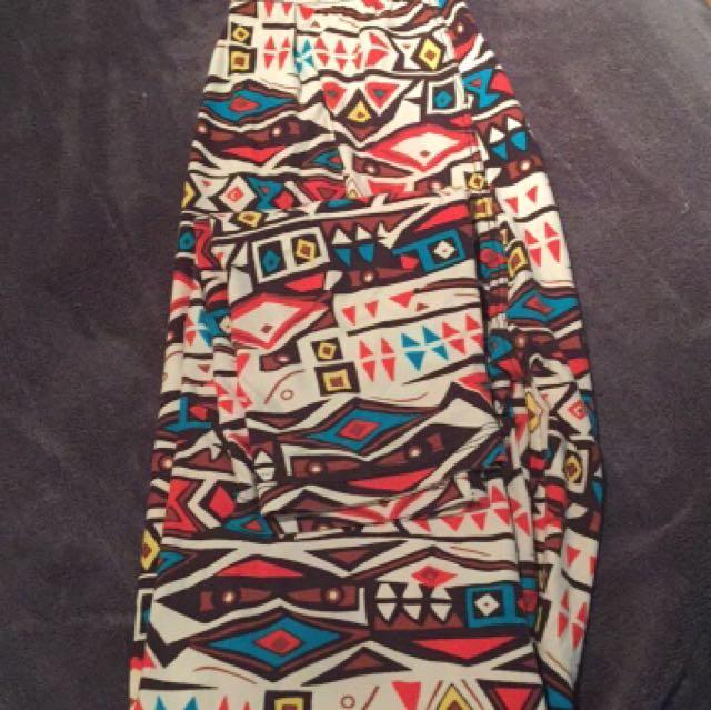Aztec leggings (super soft)
