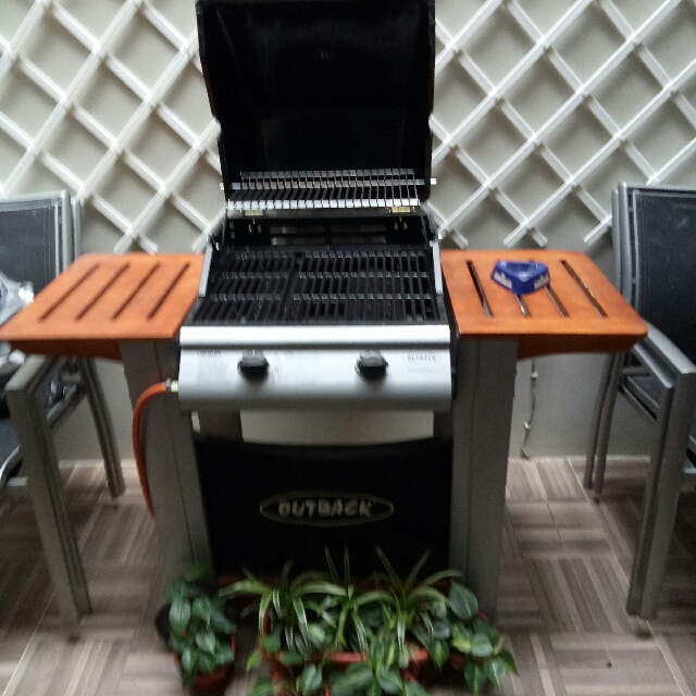 "BBQ Grill ""Outback"" Tropper Plus"