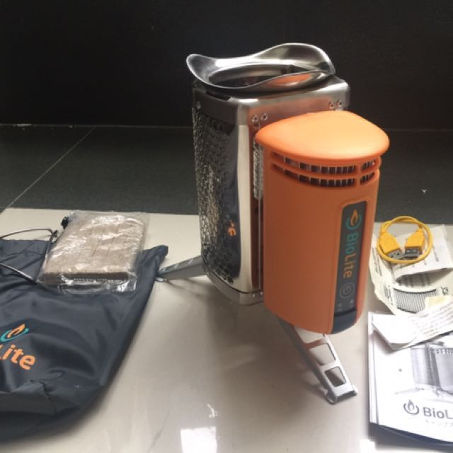 BioLite CampStove  戶外求生 發電焚火爐