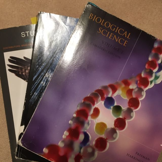 Biological Science Volume I & II + Study Guide