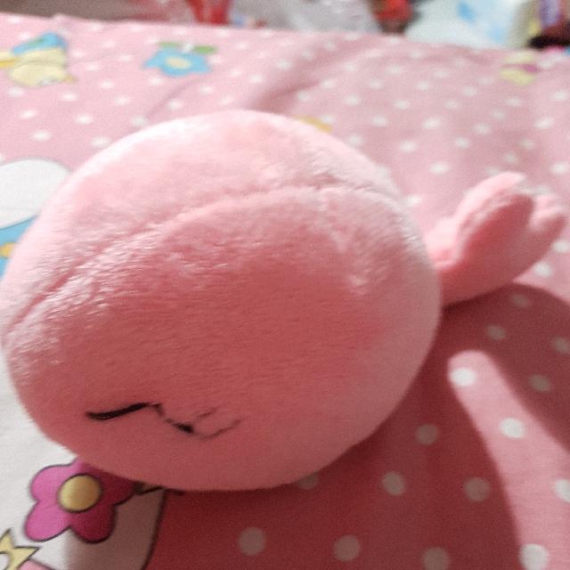 Boneka Paus Pink