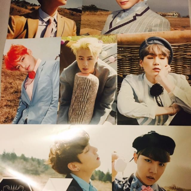 BTS SAVE ME ERA POSTER
