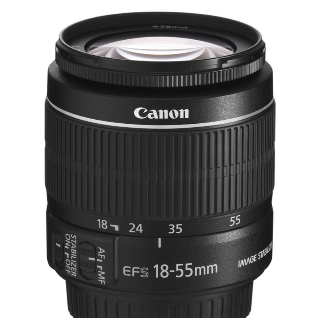 Canon EF-S lens 18-55mm