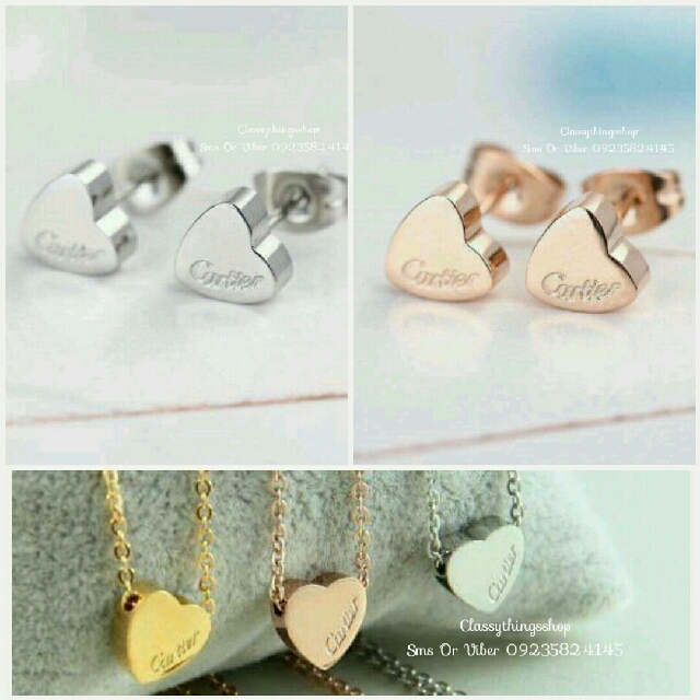 Cartier Heart Set
