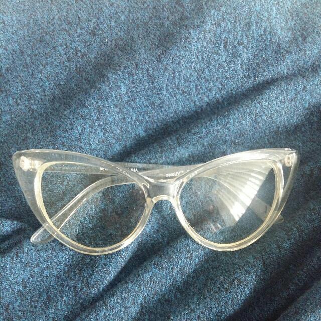 Clear Cat-eye Glasses