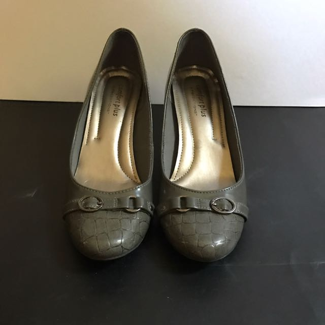 Comfort Plus Gray Pumps