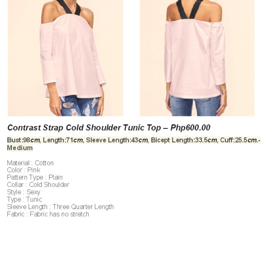 Contrast Strap Shoulder