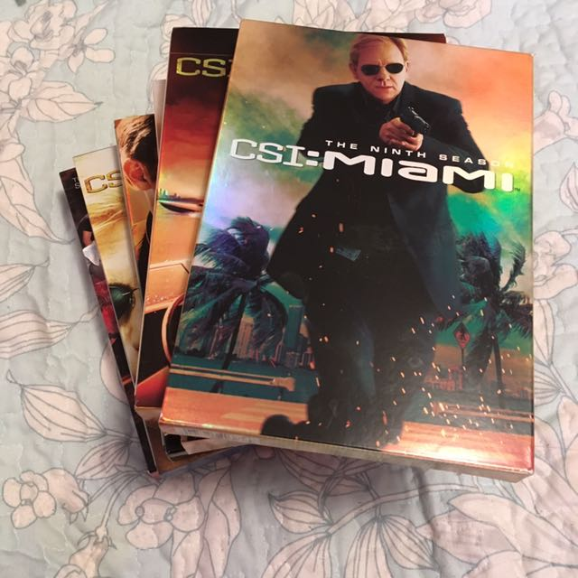 CSI DVD