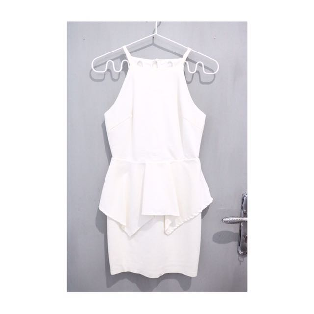 Dress tulip white