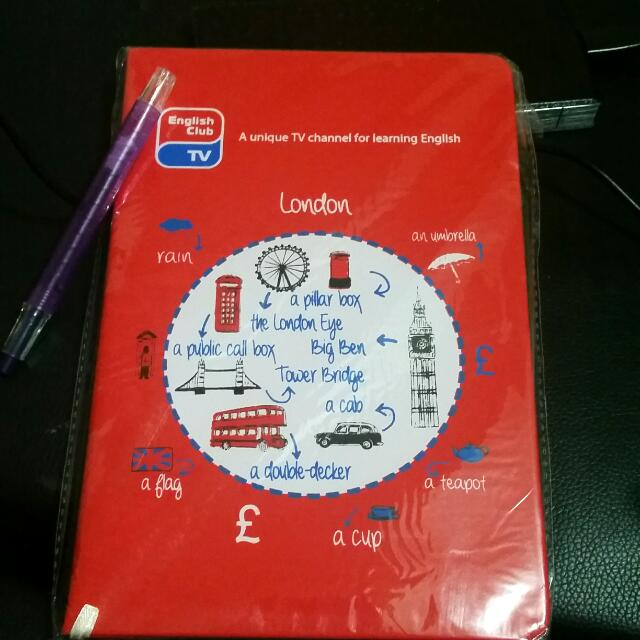 English club TV notebook