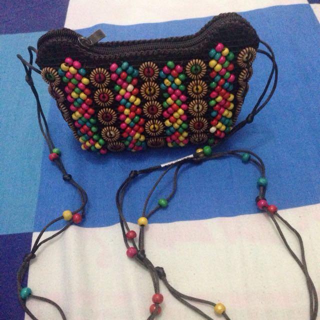 Ethnic sling bag Sasaku Lombok