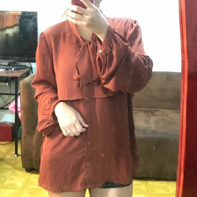 Forever21 Chiffon Long Sleeves