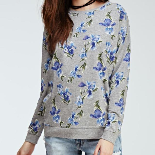 ⚡️SALE⚡️Forever 21 Floral Pullover Sweater