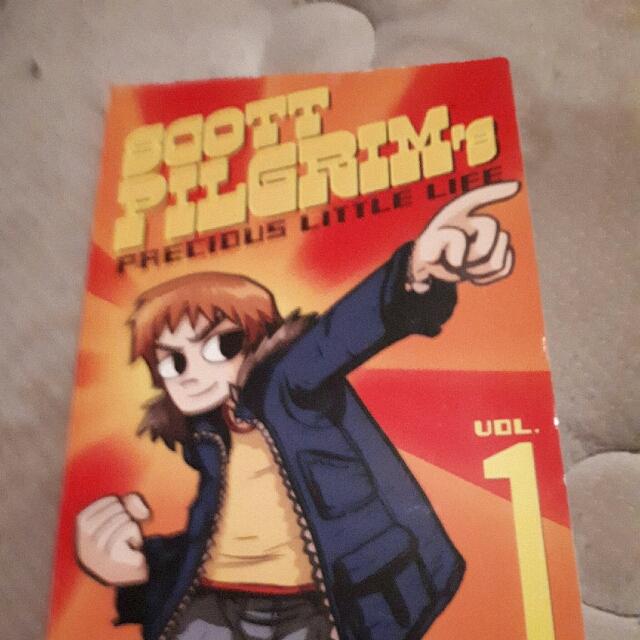 Full Set Scott Pilgrim Books 1-6