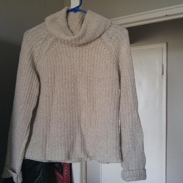 Garage Knit Turtleneck: Size M