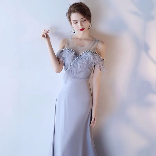 7278c3be7e FREE DELIVERY - GATSBY theme fur linings Gown