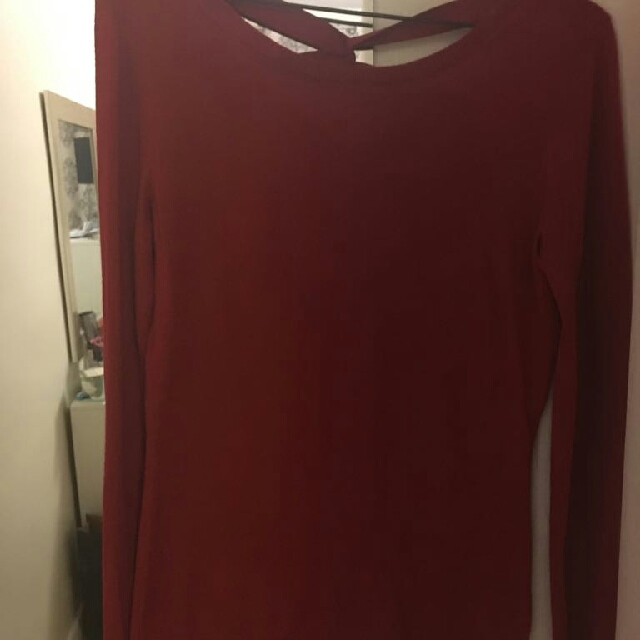 Gorgeous Deep Red Sweater