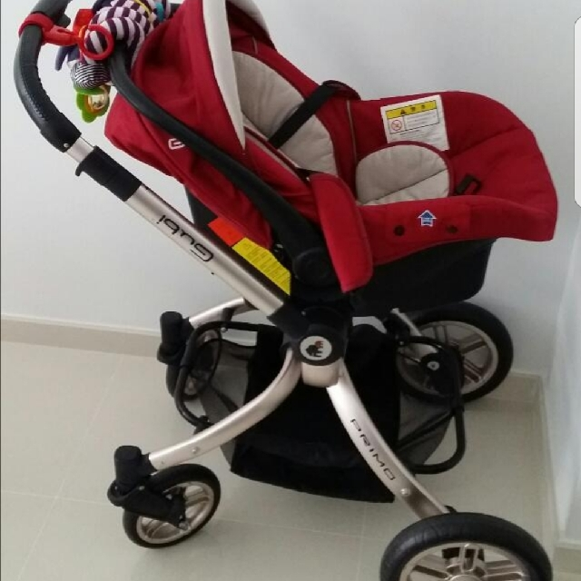 Gubi Stroller For Sale Come With Car Seat, Babies & Kids, Strollers
