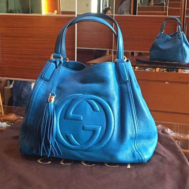 Gucci Bag Blue