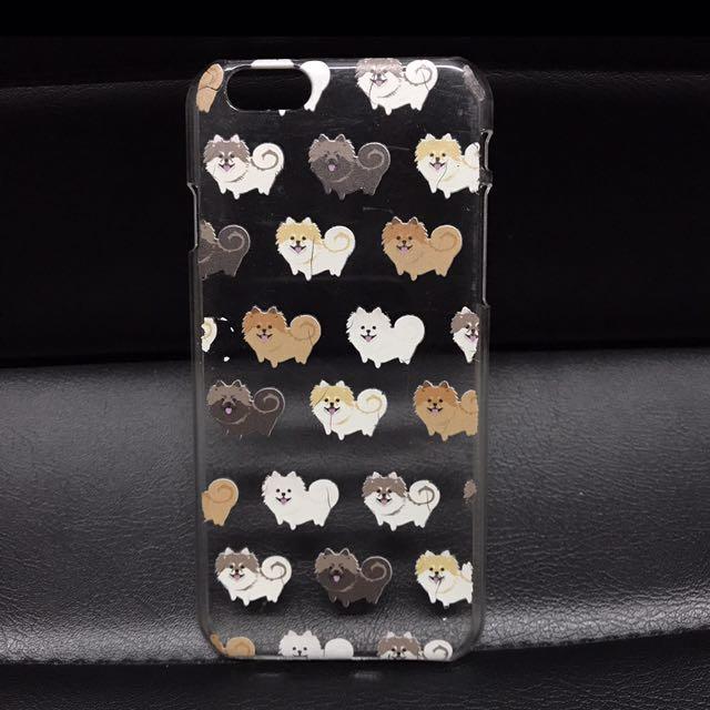 Hardcase Anjing Pomeranian Iphone 6/6S