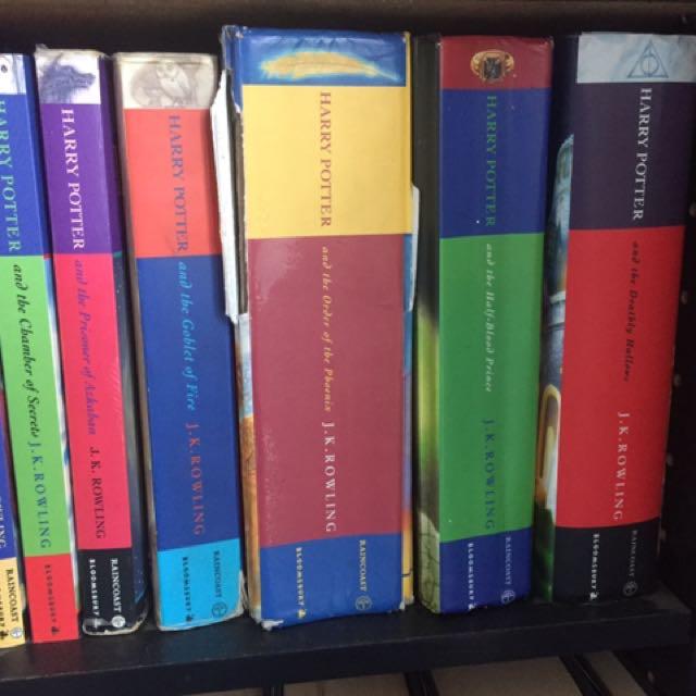 Harry Potter full series books