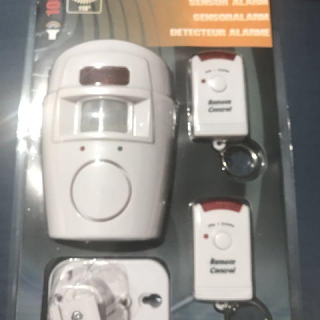 Home sensor alarm